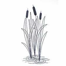 River Reeds Metal Hanging Wall Art Sculpture Home Garden Décor BIG *93 cm*