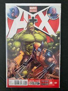 A + X #1  MARVEL COMICS 2012 NM