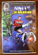 UNITY 2000 #3 (NM) Shooter, Starlin, Last issue issued,Acclaim Comics 2000-Books