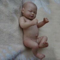 10'' Unpainted Reborn Baby Doll kit Handmade Silicone Mold Blank Newborn Girl