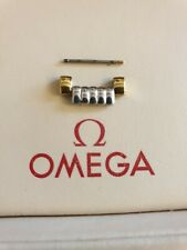 NOS Omega 16mm Gold Plated & Stainless Steel Link for Bracelet No. 1451