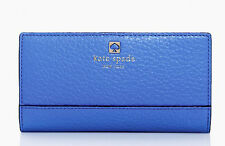 Kate Spade New York SOUTHPORT AVENUE STACY in BLUEBELLE Blue Wallet WLRU1394 New