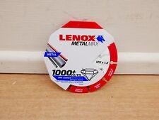LENOX METALMAX 125MM X 22.2MM ANGLE GRINDER DIAMOND METAL CUTTING DISC 2030866