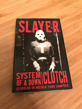 Diabolus In Musica Tour Sampler - Slayer System of a Down Clutch - Cassette Tape