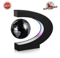 Magnetic Levitator Globe LED Lights Floating Map Of The World Desk Lamp Decor