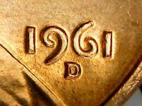 1961 D LINCOLN MEMORIAL PENNY DIE DOUBLED DIE AS SEEN ~GREAT COIN~