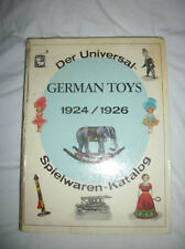 German Toys Catalogue Reprints 1924/1926 Der Universal Spielwaren - Katalog Excl