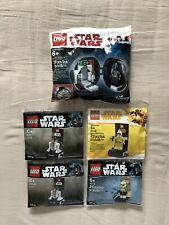 LEGO - STAR WARS - 30383, 40299, 40176, 5005376 polybags
