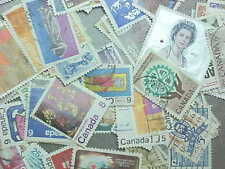 100 Different Canada Pictorials Stamp Collection - Lot