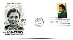 4742 Forever, Rosa Parks,  ArtCraft, Detroit, machine cancel, FDC