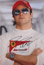 Felipe Massa mano firmado F1 2012 Ferrari Foto 12x8 3.