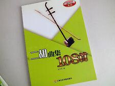 Chinois instrument musique Erhu 2 cordes violon 108 Music Sheet Song Book A3