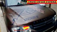 Brújula Rosa De Vientos Vinilo Pegatina Decal Coche Capo 4x4 Jeep 120x60cm