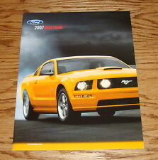 Original 2007 Ford Mustang Sales Brochure 07 GT Shelby GT 500