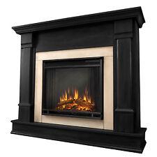Real Flame G8600E-B Silverton 48 in. L x 13 in. D x 41 in. H Electric Fireplace