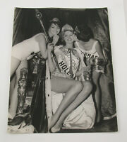 PAUL POPPER vintage Photo Foto Miss World Holland Israel 1959 Silbergelatine