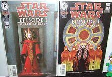 STAR WARS EP 1 QUEEN AMIDALA SET DH '99 ART & NATALIE PORTMAN PHOTO COVERS NM-
