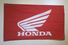 Honda Motorcycle Logo Garage Wall Decor 3x5 Flag Banner CBR Goldwing CRF Shadow