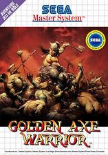 Framed SEGA Master System Game Print – Golden Axe Warrior (Gaming Arcade Classic