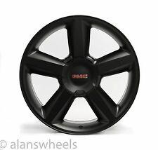 """4 NEW GMC Sierra Yukon Denali Matte Black 22"""" Wheels Rims Free Shipping 5308"""