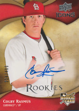 Colby Rasmus 2009 UD Icons rookie RC autograph auto card 151 /400