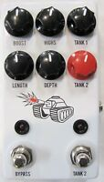 Used JHS Spring Tank Reverb Guitar Effects Pedal!