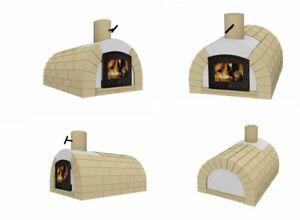 Holzbackofen, Gartenofen, Pizzaofen, Gartenofen, Gewölbeofen, Gewölbe Bausatz