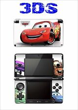 SKIN STICKER AUTOCOLLANT DECO POUR NINTENDO 3DS REF 73 CARS
