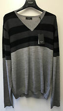 "Paul Smith LONDON Cuello En V Lana Merino Jersey XXL Pit a axila 23""/58.5cm"