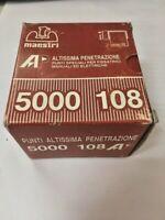 Graffe punti metallici speciali x spillatrici manuali elettriche 5000 pz 108