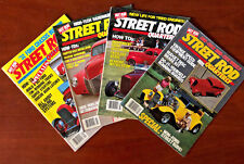 Street Rod Quarterly - Full Year - 4 Issues - 1984