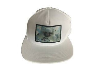 Supreme FW16 Astronaut Hologram 5 Panel Cap WHITE