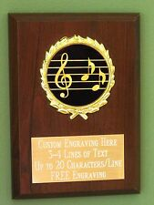 Music Note Figure Chorus Band Competition Trophy Award LOW AS $2.99 ea T-164