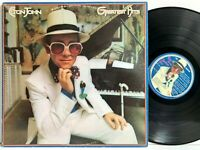 Elton John Greatest Hits MCA-1689 Orig. w/ Die Cut Inner LP Vinyl Record Album