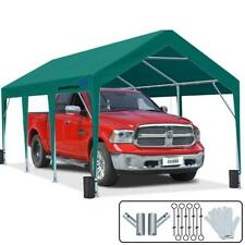 10X20 FT Outdoor Awnings Canopy Shelter Heavy Duty Carport Garage Storage Shed