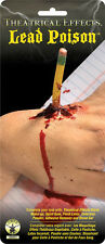 Fake Stab Would Scar Pencil Through Hand Lead Poisoning Halloween Latex Prop NEW
