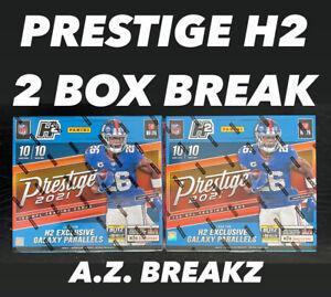 PHILADELPHIA EAGLES - 2021 PRESTIGE FOOTBALL H2 HOBBY HYBRID - 2 BOX BREAK #3