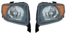 Left & Right Genuine Headlights Headlamps Pair Set For Honda Element LX EX 07-08