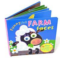 Funny Felts : Farm Faces. Felt Shapes Activity Book
