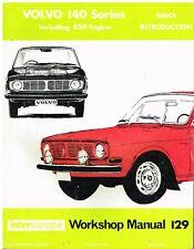 VOLVO 142 144 145 CARBURETTOR MODELS INCL B18 B20 1966-71 OWNERS WORKSHOP MANUAL