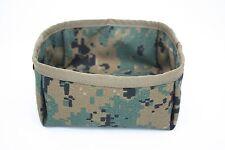 AAT Digital Woodland K9 Dog Bowl Travel Folding Tactical Spec USA Made