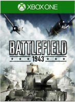 2018 Battlefield 1943 Xbox One Xbox One S Xbox One X [Digital] 1 Day Delivery