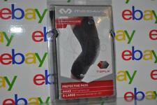 McDavid TEFLX Leg Sleeves Protective Pads 6446X Adult XL Both Legs Black NIB