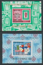 Philippines - 1968, Olympic Games, Mexico sheets x 2 - MNH