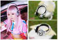 Sonicomi Super Sonico Headphone Cosplay Prop Anime Halloween Party Accessory