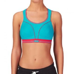 SHOCK ABSORBER Ultimate Run SPORTS BRA BLUE 30B NEW