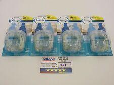 R451 Febreze Plug Air Freshener Refill Bora Bora Waters 26ml *Lot of 4*