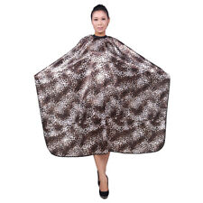 Adult Hair Cutting Cape Salon Products Leopard Grain Waterproof Smooth
