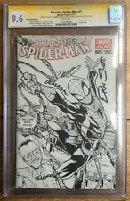 Amazing Spider-Man #1 Sketch Variant CGC SS 9.6 x4 Slott Ramos Olazaba Delgado