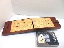 Travel Cribbage Game/Folding Board With Cards